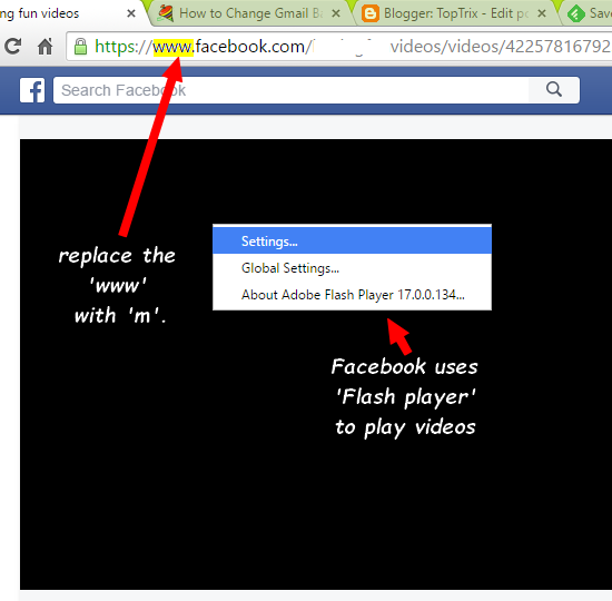 How to download facebook video on pc or mobile video topix how to download facebook video on pc or mobile ccuart Images